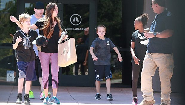 Angelina Jolie's Kids Shiloh, Zahara & Knox Are All Smiles After Working Out At The Sports Academy https://tmbw.news/angelina-jolies-kids-shiloh-zahara-knox-are-all-smiles-after-working-out-at-the-sports-academy  Let's get physical! Angelina Jolie's kids Shiloh, Zahara and Knox were spotted at the Sports Academy in Los Angeles on July 29 where they were working up a sweat, kid-style. See the adorable pics of their outing here!Angelina Jolie, 42, and Brad Pitt's, 53, kids are used to being…