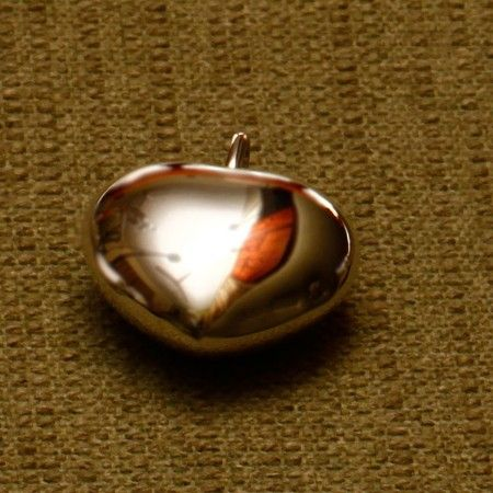 This heart shaped keyring made in sterling silver has all the qualities to make a special valentine's gift.
