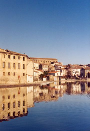 """Castelnaudary. World capital of """"Cassoulet"""" - great town for foodies! We completed our cruise up the Canal du Midi in Castelnaudary."""