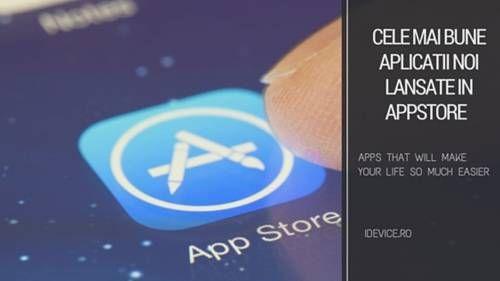 Iata cele mai bune aplicatii noi lansate in App Store pe 15.03.2017