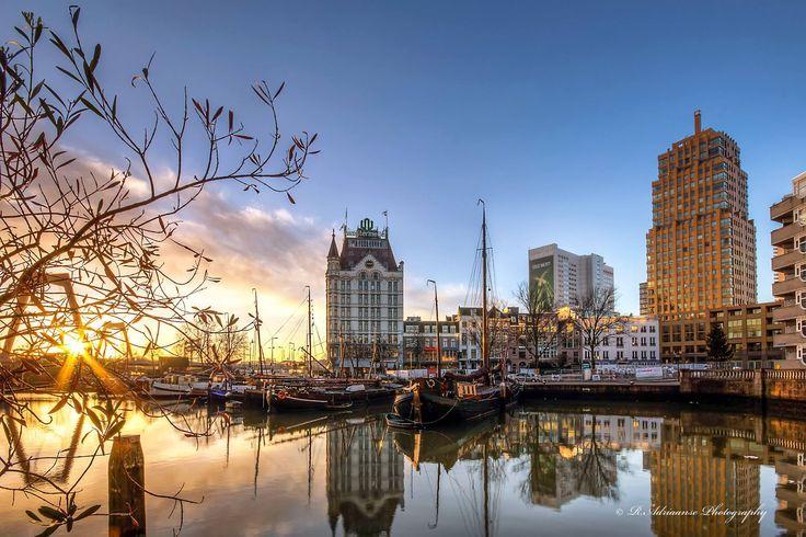 Witte Huis aan de Oude Haven. Ooit het hoogste gebouw van Rotterdam.