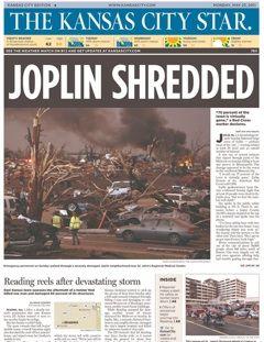 "tornado headline   Missouri Town ""Shredded"" By Tornado   Pat's Papers"