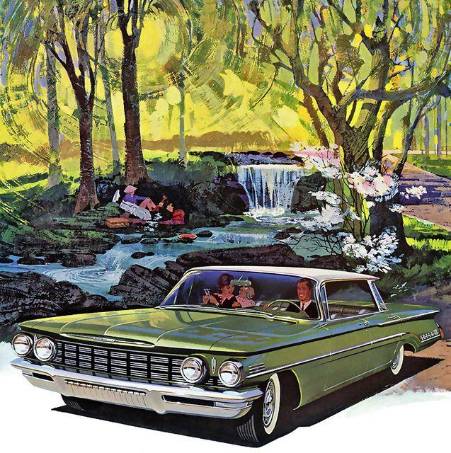 Chevrolet Wallpaper, Art Cars, Retro
