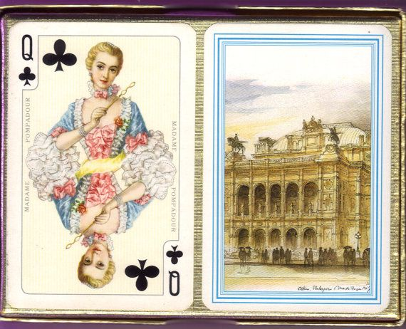 Vienna Impressions Bridge Cards from Austria with Historical Royals as Court Cards
