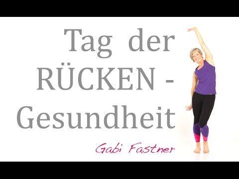 Präventions-Gymnastik für den unteren Rücken - YouTube