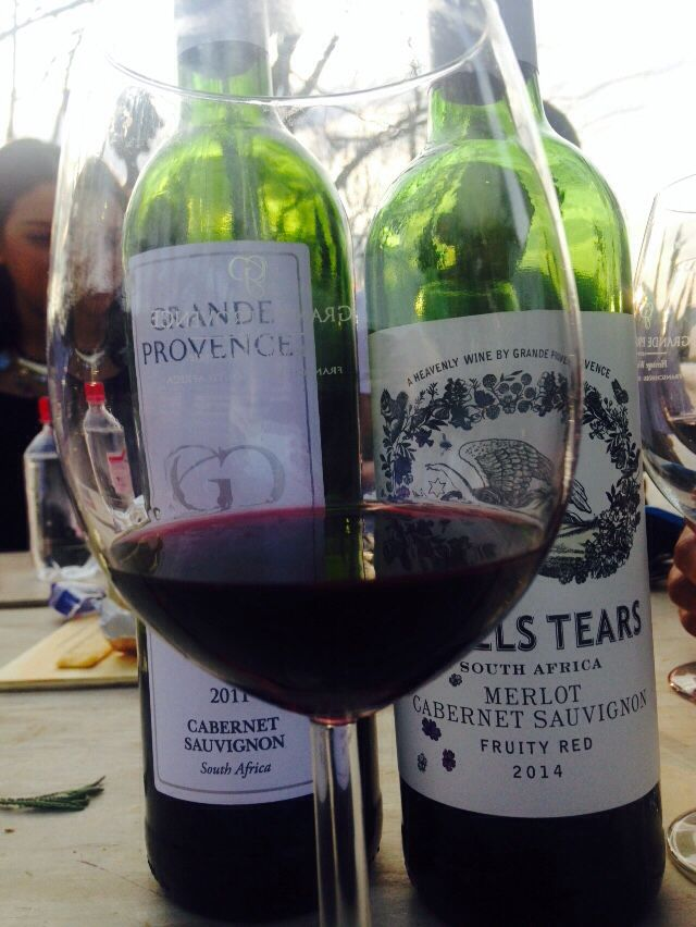 Grande Provence  #Angels tears •Cabernet Sauvignon • 8888 tears