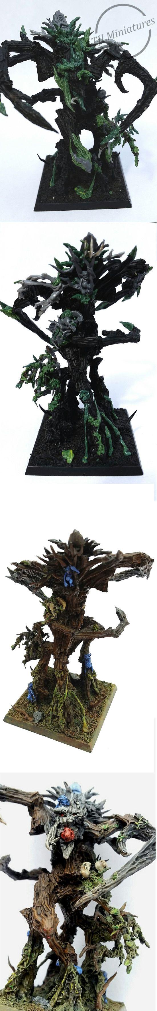 Wood Elf - Sylvaneth - Treeman conversion