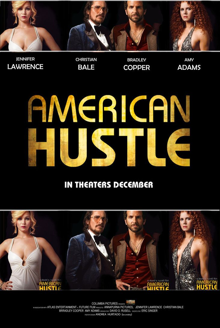 American Hustle - Movie Poster | Cinema | Pinterest | The ...