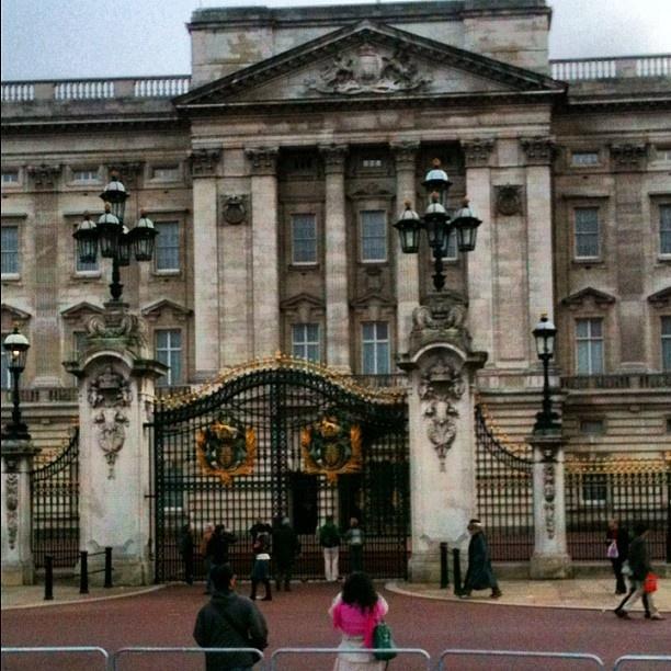 Buckingham Palace, London, May 2012