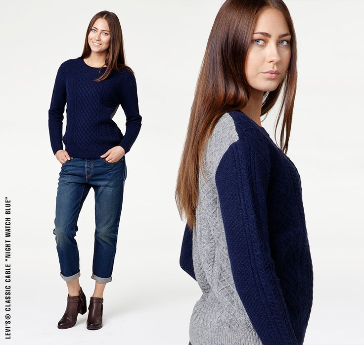 #liveinlevis #levis #women #womencollection #onlinestore #online #new #newcollection #newarrivals #fw15 #fallwinter15 #sweater #classic #cable
