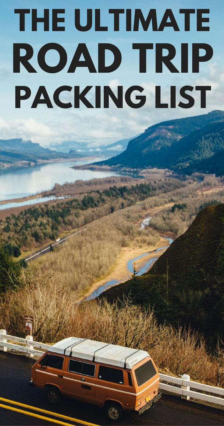 Not sure what to pack for a road trip? This road trip packing list has all the road trip essentials you will need. ***************************************************************************** Road Trip Packing List | Road Trip Essentials | What to pack for a road trip | Road Trip essentials checklist