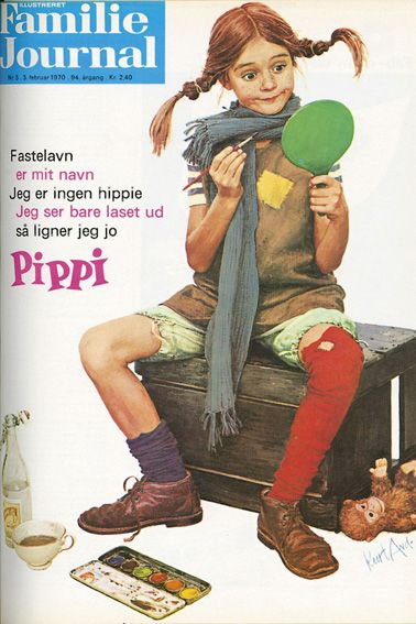 Kurt Ard forsider - Pippi er er mit navn