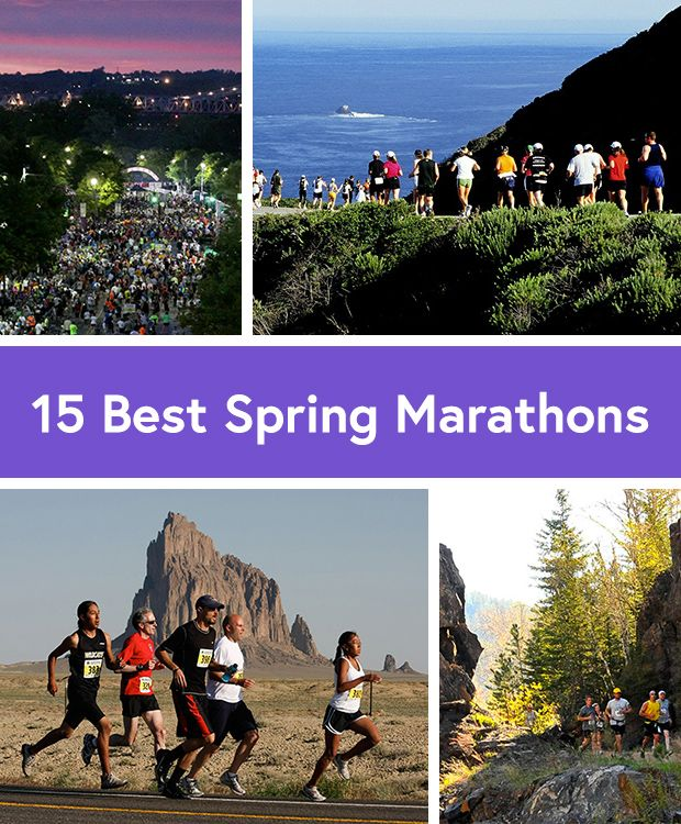 The 15 Best Spring Marathons in the U.S. - Life by DailyBurn - marathon #4 here I come!!!!