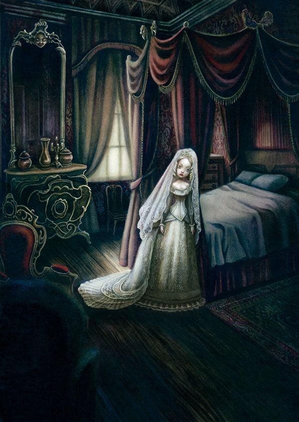 Hermosas ilustraciones de Benjamin Lacombe + libro pop up - Taringa!