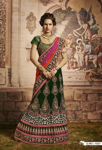 Buy Fabulous designer lehenga saree Online - Rs 11590