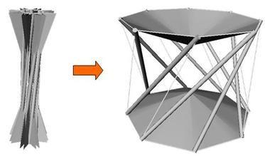 148 besten tensegrity bilder auf pinterest kleine h user balkon und haus pl ne. Black Bedroom Furniture Sets. Home Design Ideas