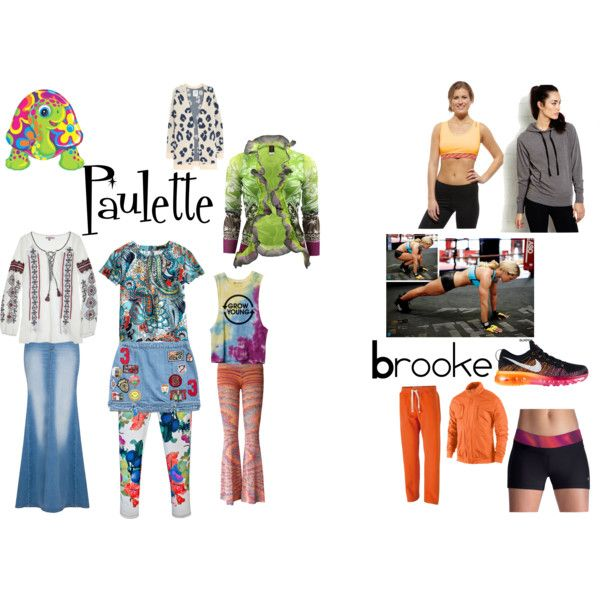 """Paulette and Brooke: Legally Blonde"" by newgirlabby on Polyvore"
