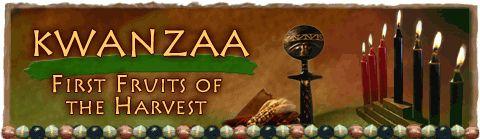 Kwanzaa 2009: Day 2 - Kujichagulia, the Second Principle of Kwanzaa - self-determination