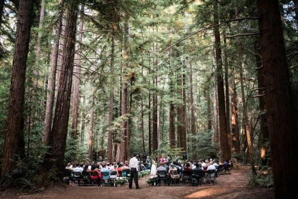 Camp Navarro - Disappear into this 200-acre wine country and camp retreat venue. Perfect for California woodland weddings and events.