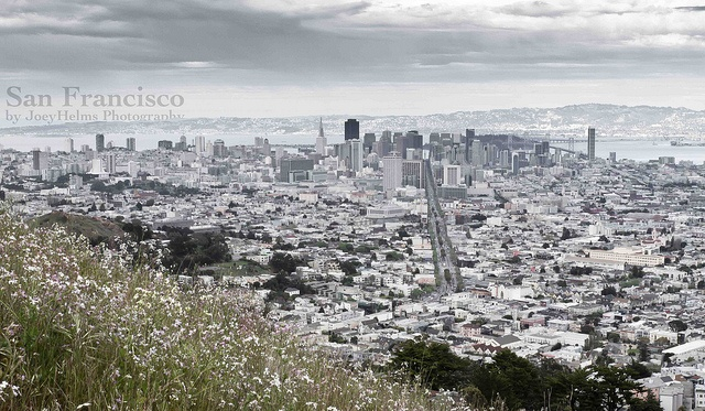 Twin Peaks - View on San Francisco, Califonia, USA , via Flickr.