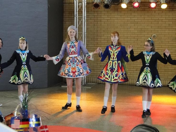 Irish step dance dresses
