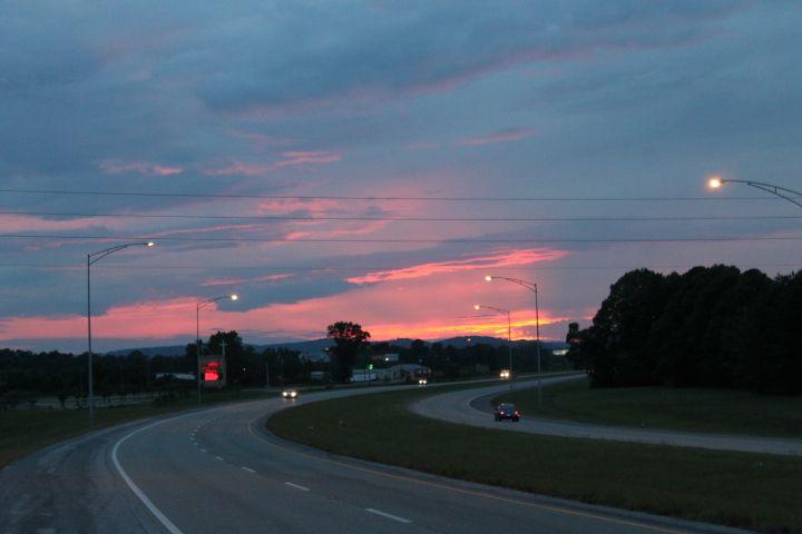 Sunset on I-759
