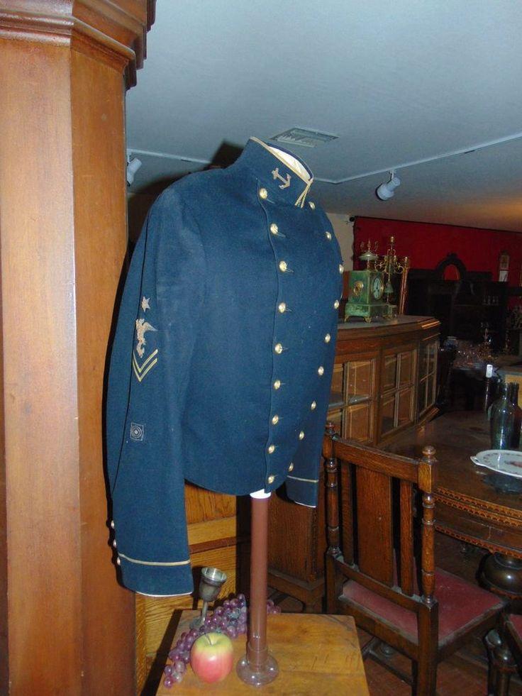 Antique and Authentic, U.S NAVY Uniform,  Navy Uniform Coat, 1929 .