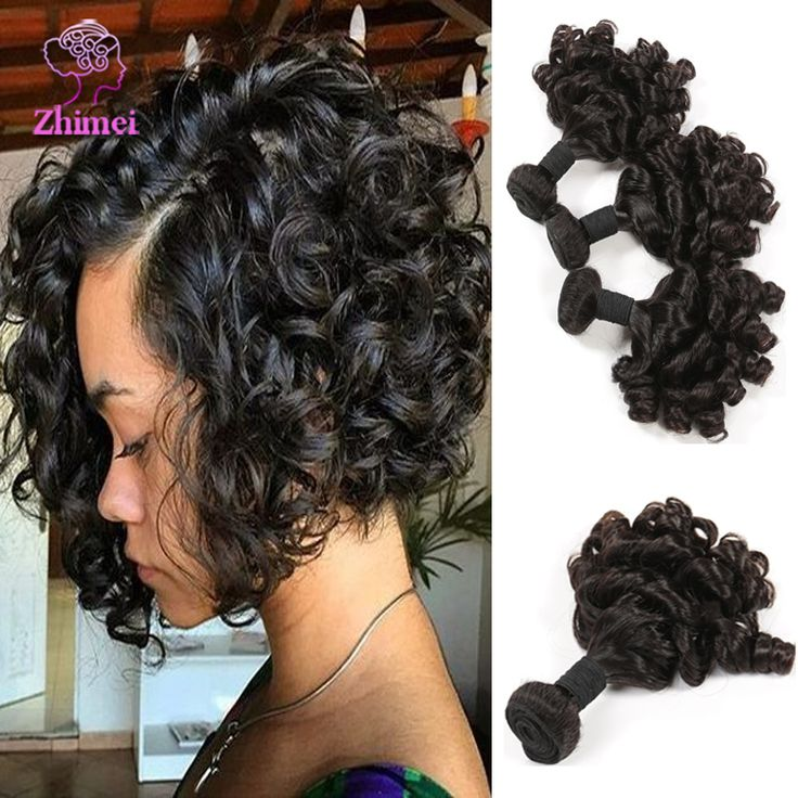 7A Virgin Brazilian Deep Wave With Closure 4 Bundles Brazilian Deep Curly Virgin Hair With Closure Human Hair Weave With Closure - Black Women Wigs Black Women Wigs