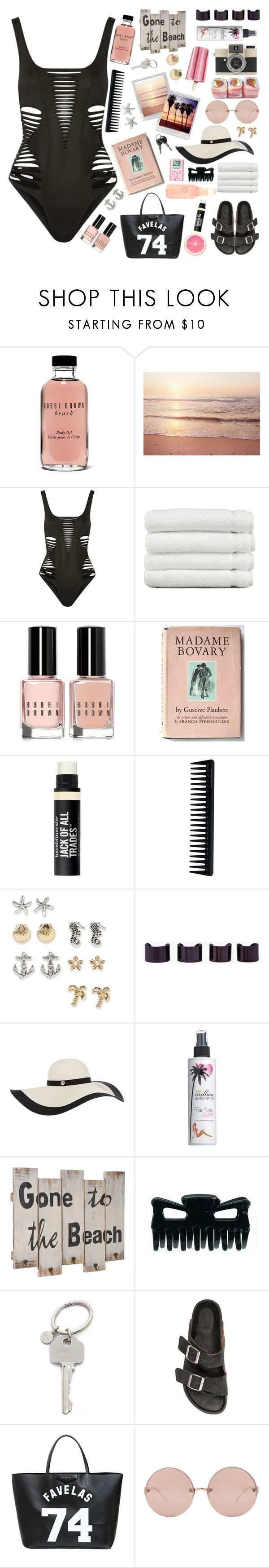 """""""Fashion is my beach!!!!"""" by karineminzonwilson ❤ liked on Polyvore featuring Bobbi Brown Cosmetics, WALL, Agent Provocateur, Linum Home Textiles, Bare Escentuals, GHD, Aéropostale, Maison Margiela, Million Dollar Tan and Paul Smith"""