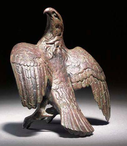A ROMAN BRONZE EAGLE. CIRCA 1ST-2ND CENTURY A.D. Cristie's.