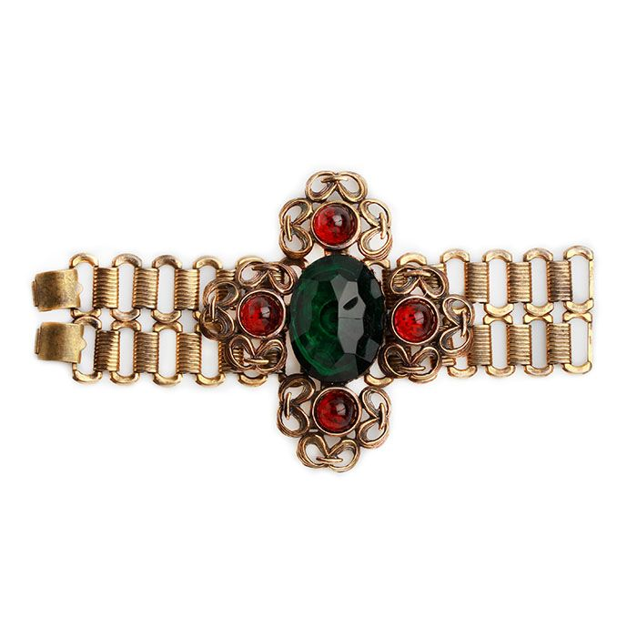 Винтажный браслет в форме креста
