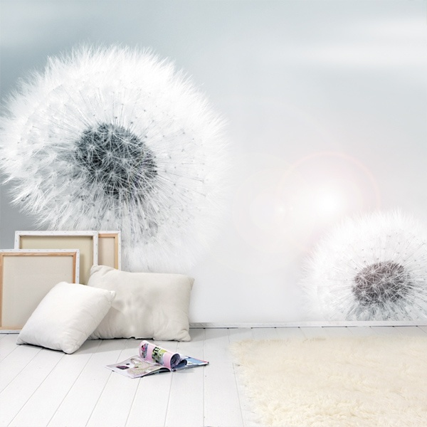 Die besten 25+ Fototapete pusteblume Ideen auf Pinterest Bild - wandgestaltung für schlafzimmer