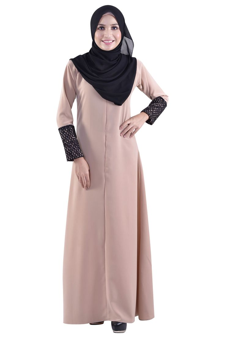 Dot's For Sure Dress Muslimah- Jubah & Abaya