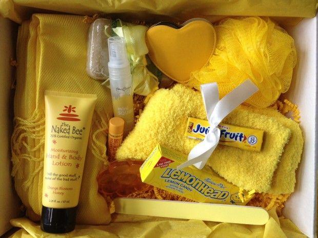 Send a friend Sunshine in a Box, :-) could make anyone smile!