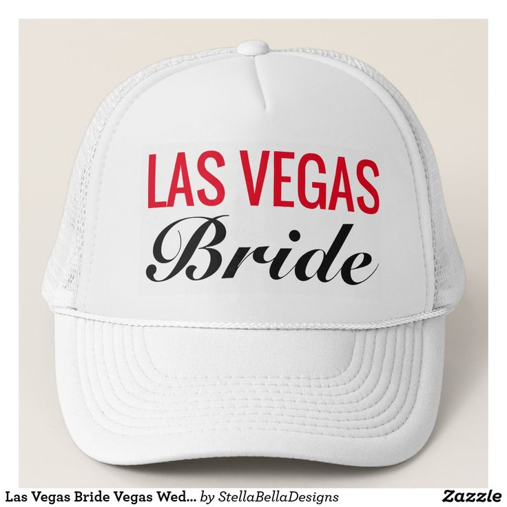 Las Vegas Bride Wedding Trucker S Hat