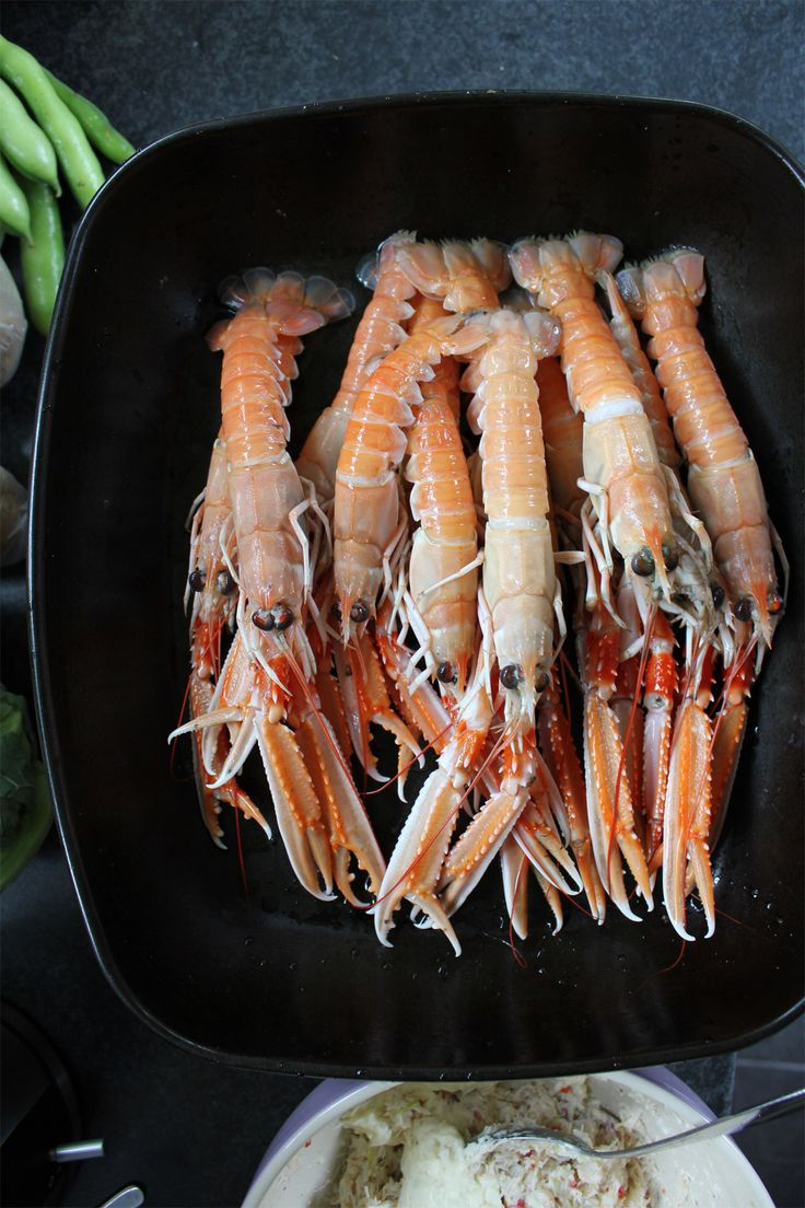Look at these beauties from Portavogie - they're the star of my alternative Sunday lunch today http://thefreshfoodblog.co.uk/recipes/fish-seafood/grilled-langoustines/