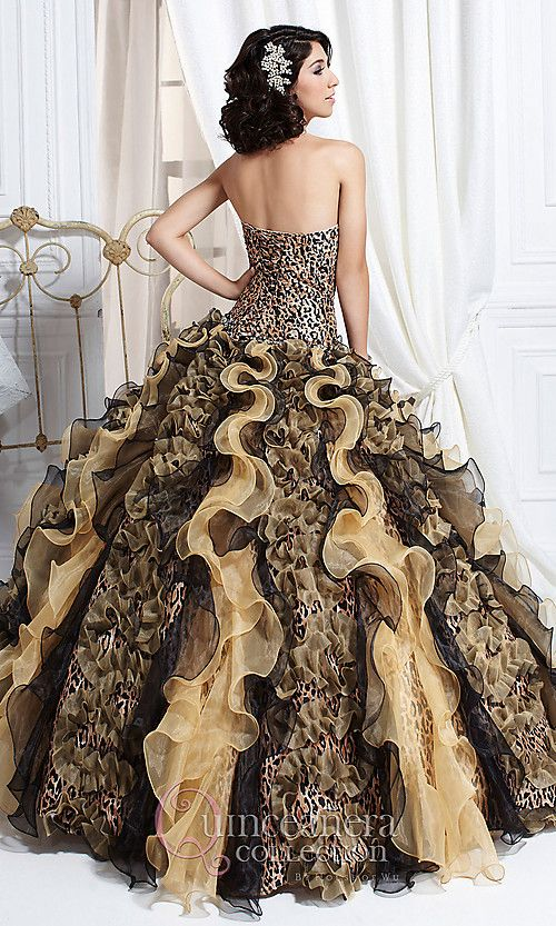 leopard print wedding dress - Google Search