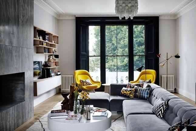 Image result for mad men living room interior design