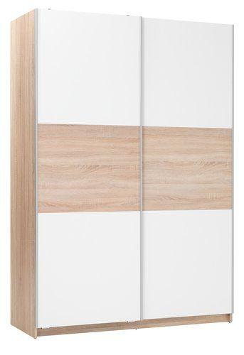 Szafa SATTRUP W150cm biały/dąb | JYSK