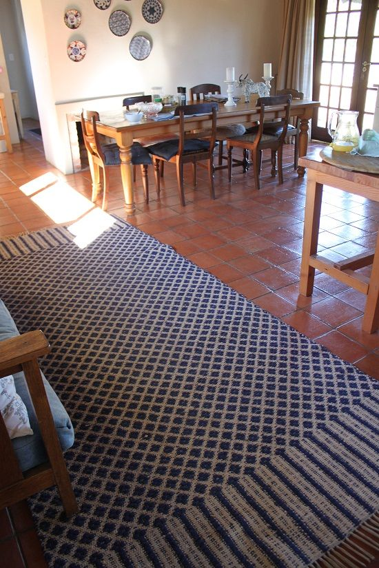Cotton Kitchen Rug Handwoven Carpets By Coral Stephens Pinterest Kitchen Rug Carpets And Rugs
