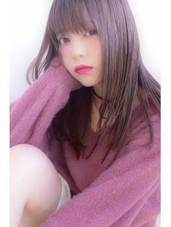 アンベリール(Embellir)柔らかピンクラベンダーストレート☆