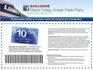 Lowes Home Improvement coupons for february 2017