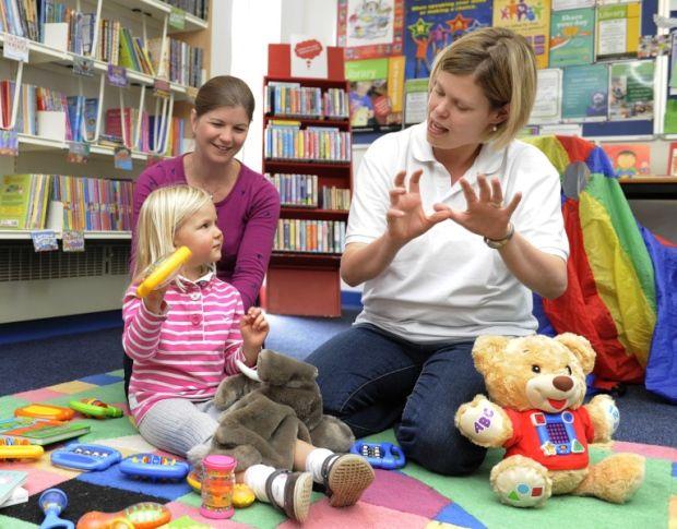 Kate teaching French in Kings Lynn