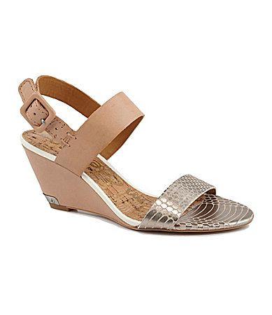 Sam Edelman Sutton Wedge Sandals #Dillards