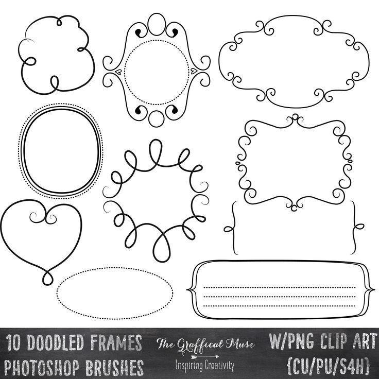 The Graffical Muse: doodled frames