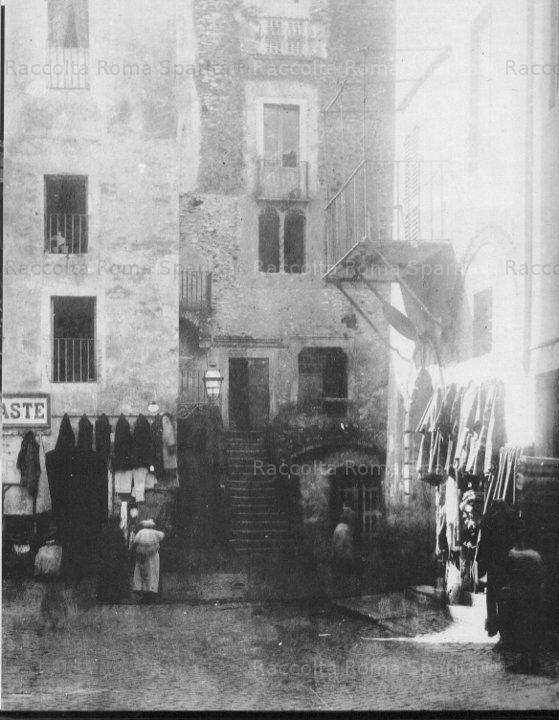 Via Rua ghetto ebraico 1884