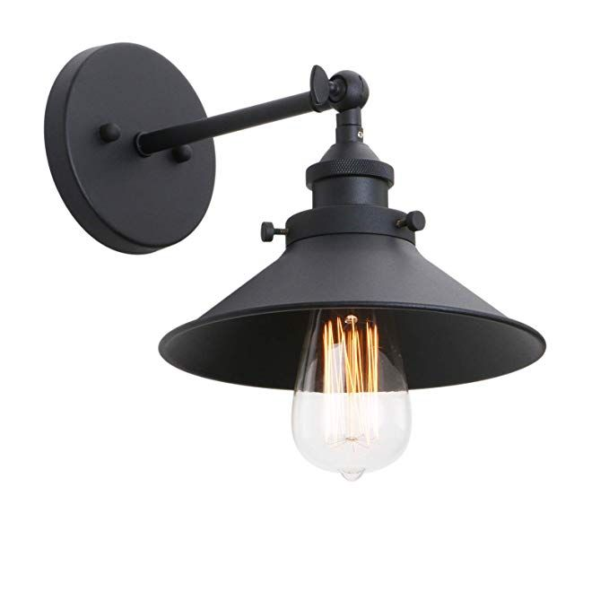 Phansthy Industrial Wall Sconce Light 7 87 Inch Vintage Style 1