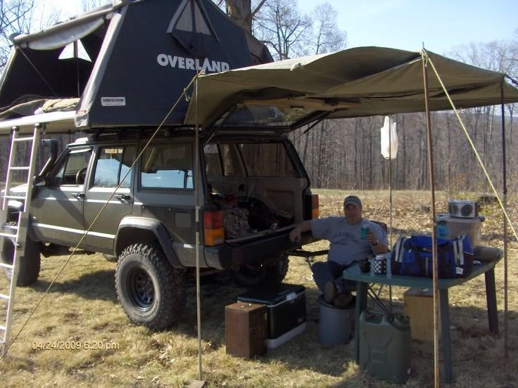 JeepBuilds Jeep wj, Jeep xj, Jeep camping