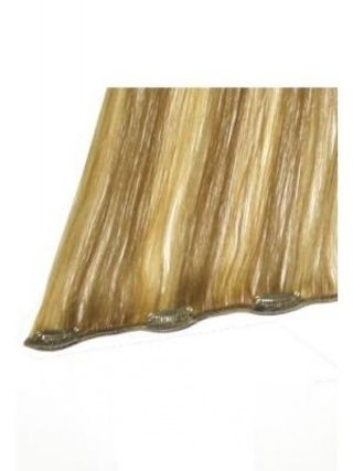 20 inches Small Clips Human Hair Extensions with Highlight  Honey Blonde #HairExtensions #wigs #prettywighair #humanhairwigs #hair #hairstyle #haircolor #beauty #fashion