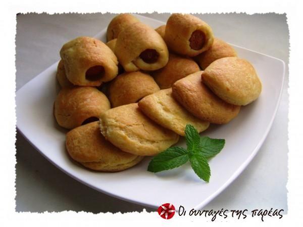 Ζύμη για πιτάκια με λουκάνικο ή τυρί #sintagespareas